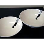 月地紋 平組茶碗